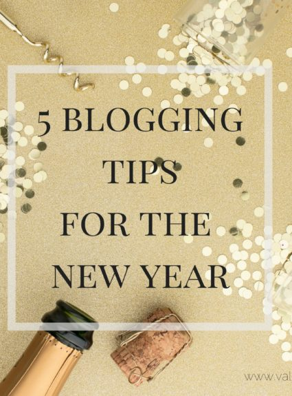5 Blogging Tips for the New Year
